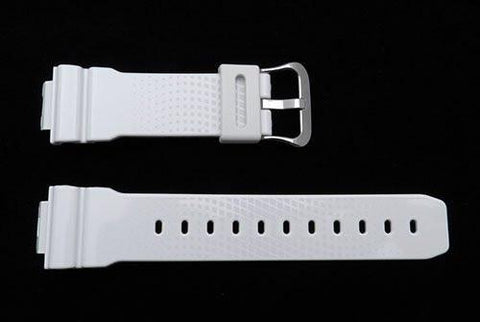 Genuine Casio White Patterned G-Shock Watch Band- 10382431
