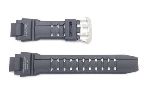 Genuine Casio Black Resin 22/15mm G-Shock Series Aviation Watch Strap- 10397883