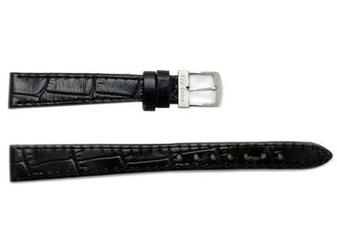 Citizen Eco-Drive Black Alligator Grain 13mm Watch Strap