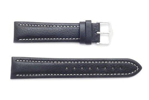 Hirsch Buffalo - Smooth Calfskin Leather Short Watch Band