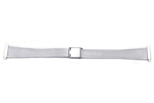 Hadley Roma Ladies Stainless Steel Mesh Style Watch Bracelet Size 14-17mm