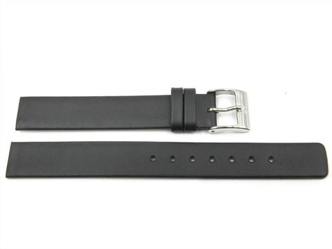 Genuine Leather 14mm Watch Band for Skagen 358SSLBB