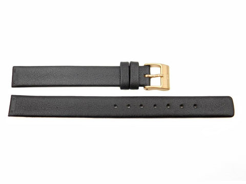 Genuine Skagen Dark Brown Leather 12mm Watch Strap - Screws