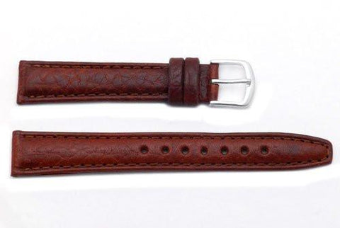 Hadley Roma Tan Mens Genuine Leather Watch Strap