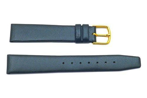Hadley Roma Gray Mens Genuine Calfskin Watch Band