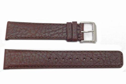 Kenneth Cole 20mm Genuine Brown Leather Watch Band