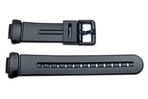 Genuine Casio G-Shock Black Glossy Watch Strap - 10162886