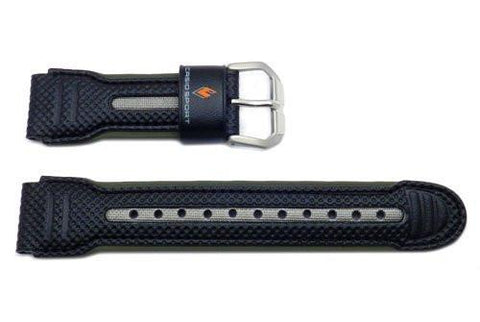 Genuine Casio Sport Pathfinder Black Resin Watch Strap - 10186053