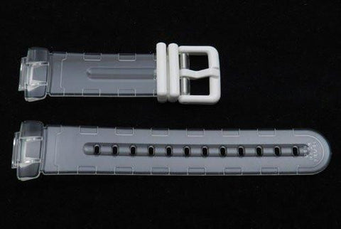 Genuine Casio Clear Transparent Baby G Watch Band Size 23/14mm