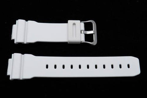 Genuine Casio White Resin 26/16mm Watch Band - 10222653