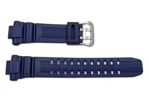 Genuine Casio Blue Resin G-Shock Series Watch Band - 10370809