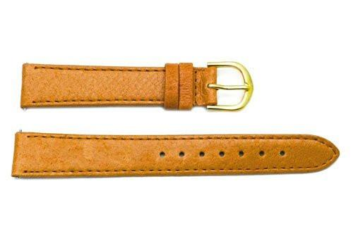 Timex Tan Smooth Pigskin Leather Leather Watch Strap