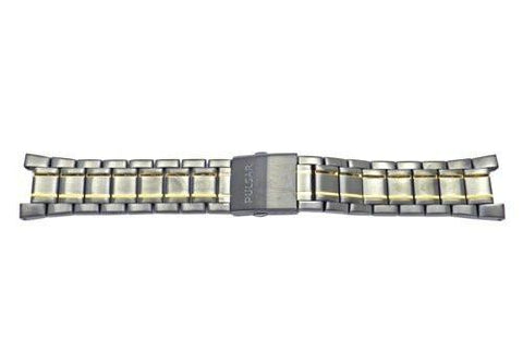 Pulsar Black Dual Tone Stainless Steel Watch Bracelet
