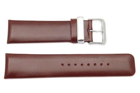 Kenneth Cole Genuine Smooth Leather Brown Watch Band