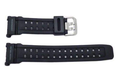 Genuine Casio Black Resin Tough Solar Series Watch Band - 10237094