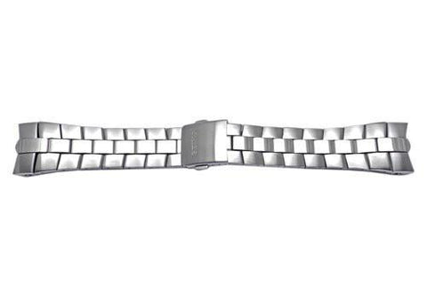Seiko Stainless Steel Push Button Fold-Over Clasp 26mm Watch Bracelet