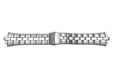 Seiko Arctura Kinetic Stainless Steel Push Button Fold-Over Clasp Watch Band