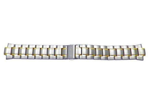 Seiko Kinetic Titanium Dual Tone Watch Bracelet