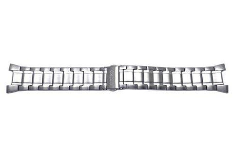 Seiko Stainless Steel Push Button Clasp Watch Band