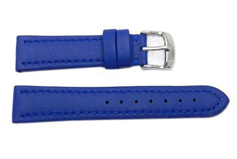 Hadley Roma Genuine Lorica Blue Hypo-Allergenic Waterproof Watch Band