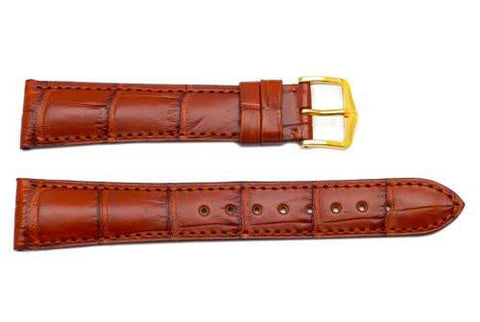 Hirsch London - Alligator Brown Leather Watch Band