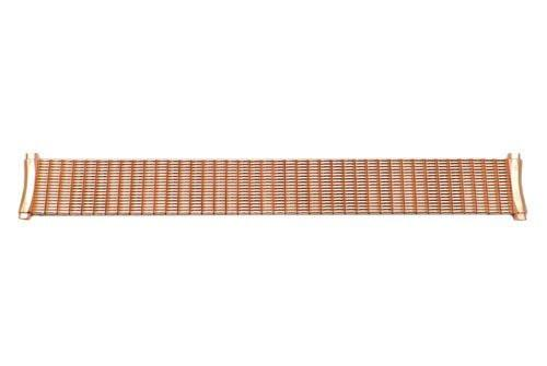 Hadley Roma Rose Gold Wide Body Expansion Flex 18-21mm Watch Bracelet