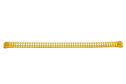 Genuine Stainless Steel 8mm Gold Tone Expansion Watch Band by Citizen