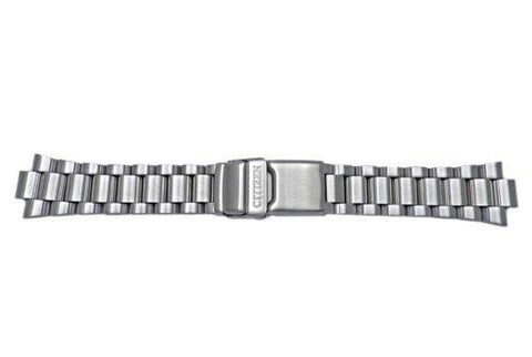 Genuine Citizen Brushed Solid Link Stainless Steel Watch Bracelet
