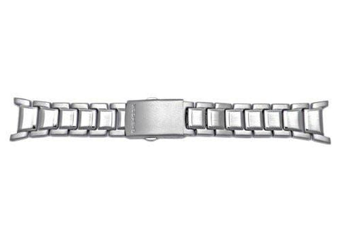 Genuine Casio G-Shock Silver Tone Stainless Steel 24mm Watch Band - 10106001