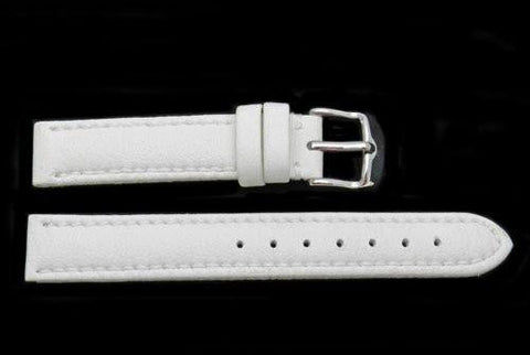 Hadley Roma Genuine Lorica White Hypo-Allergenic Waterproof Watch Band