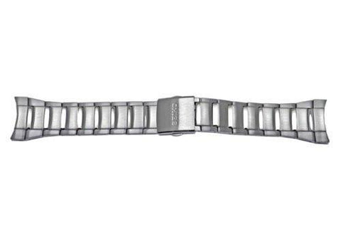 Seiko Metal Band Push Button Fold-Over Clasp 26mm Watch Bracelet