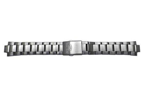 Seiko Stainless Fold Over Clasp With Push Button 21/10mm Watch Bracelet