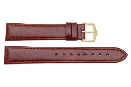 Hirsch Osiris - Mid Brown Calf Leather Watch Strap