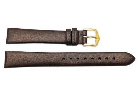 Hirsch Cashmere - Bronze Aloe Vera Finish Ladies Calf Leather 12mm Watch Strap