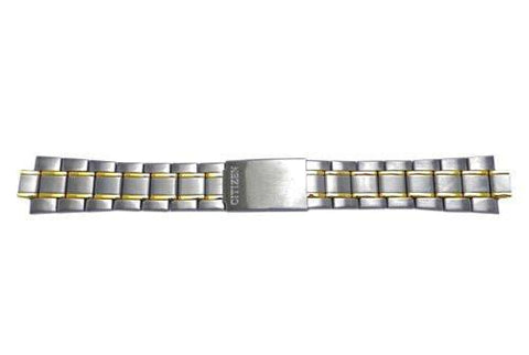 Citizen Dual Tone Brushed and Polished 22mm Watch Bracelet