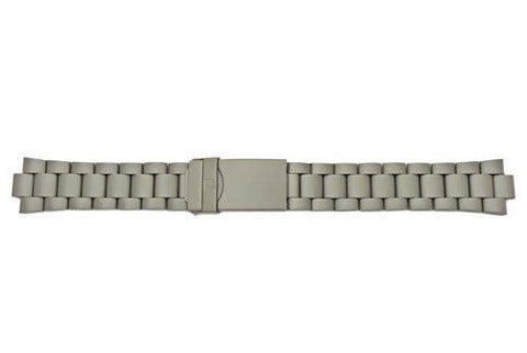Genuine Wenger Titanium Plated Stainless Steel 19mm Watch Bracelet