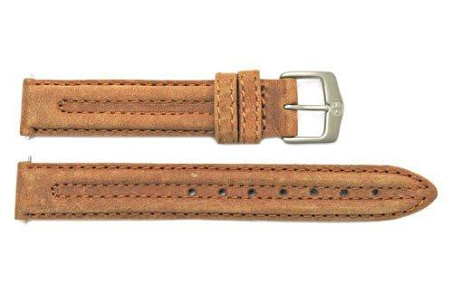 Genuine Wenger Ladies Brown 14mm Leather Watch Strap