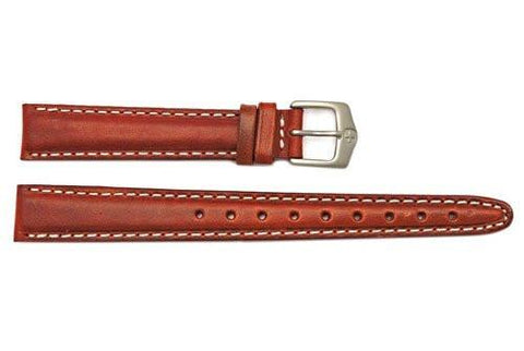 Genuine Wenger Long Ladies Brown Field Issue 14mm Leather Watch Strap