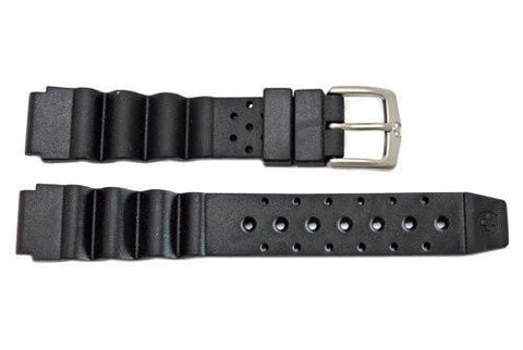Genuine Wenger Ladies Black 14mm Divers Watch Band