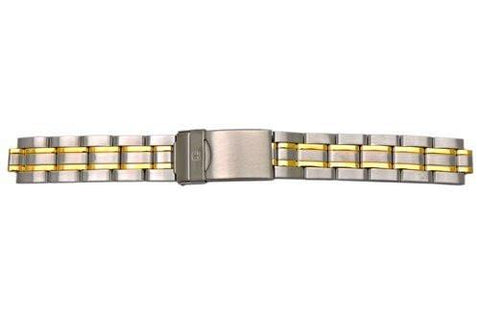 Genuine Wenger Standard Issue Series Dual Tone 16mm Watch Bracelet