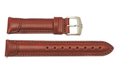 Genuine Wenger Brown Field Century 19mm Leather Watch Strap