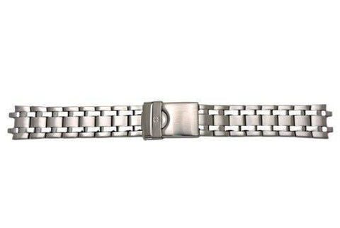 Genuine Wenger Brushed And Polished Stainless Steel 20mm Watch Bracelet