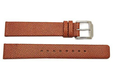 Kenneth Cole Genuine Textured Tan Leather 15mm Watch Strap