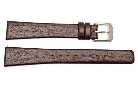 Kenneth Cole Genuine Leather Square Tip 16mm Watch Band