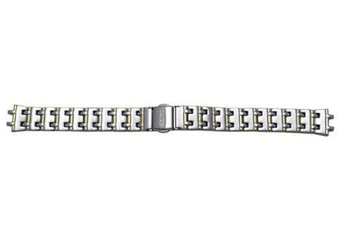 Genuine Seiko Ladies Sporty Dual Tone 14mm Watch Bracelet
