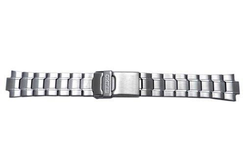 Seiko Stainless Steel Push Button Clasp 20mm Watch Bracelet