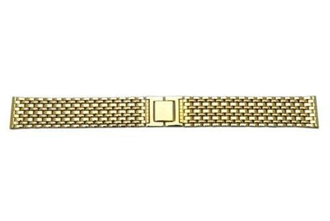 Genuine Seiko Mens Gold Tone 19mm Bangle Watch Bracelet