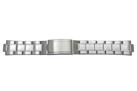 Pulsar Stainless Steel Fold-Over Clasp Men's Replacement Watch Bracelet