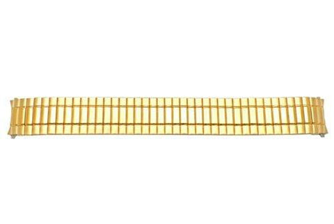 Seiko Gold Tone 18mm Flex Expansion Watch Bracelet