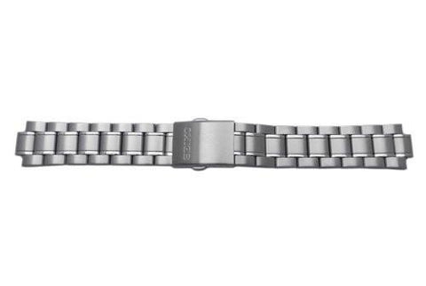 Seiko Stainless Steel Push Button Fold-Over Clasp 20mm Watch Bracelet